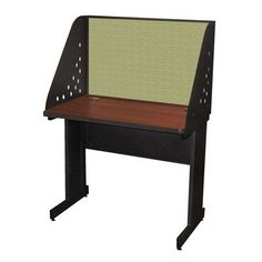 Pronto Training Table Finish: Mahogany Laminate/Dark Neutral Finish, Size: 42