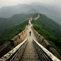 The Great Wall of China. 万里长城 #Travel #China #Asia