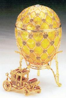 Faberge Eggs Worth | Faberge-Imperial Twelve Monogram Egg