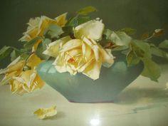 Carte de Catharina Klein - Roses dans un vase