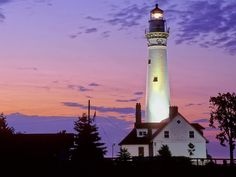 Wind Point Lighthouse - Racine, Wisconsin.