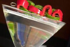 Spicy Cucumber Wasabi Martini Cocktail Recipe