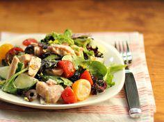 Salmon & Greens Salad