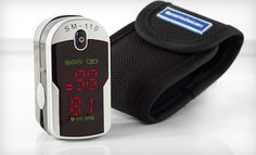 Groupon - $29 for a Santa Medical Finger Pulse Oximeter with a Carrying Case ($199 List Price). Free Shipping and Free Returns. in Online Deal. Groupon deal price: $29.00