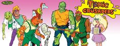 Observatório Animado: Toxic Crusaders Episode 1: The Making Of Toxie