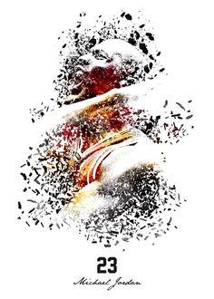 23 Michael Jordan on Behance Jeffrey Jordan, Jordan 23, Jordan Logo, Air Jordan, Sports Clips, Sports Art, Basketball Is Life, Nba Basketball, Michael Jordan Images
