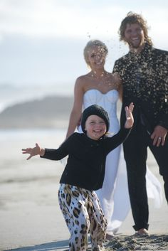 Boho beach wedding. Real Wedding - Blissful Beach Elopement - You Mean The World To Me www.youmeantheworldtome.co.uk