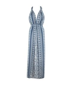 Halter Maxi Dress by Koko & Palenki
