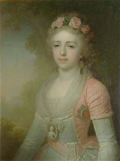 Grand Duchess Alexandra Pavlovna of Russia, (Russian: Александра Павловна: 9 August 1783 at Tsarskoye Selo – 16 March 1801 in Vienna) was a daughter of Tsar Paul I of Russia and sister of Emperors Alexander I and Nicholas I. She became Archduchess of Austria upon her marriage to Archduke Joseph of Austria, Governor of Hungary.