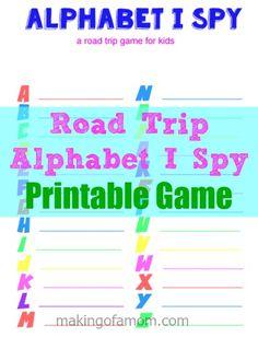 (Printable) Alphabet
