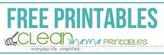 Need a little help in the organizing department? This site  is chock full of Free Printables and great, easy to implement ideas. Via Clean Mama