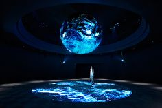 Science and technology exhibition design medium ideas Interactive Installation, Interactive Art, Interactive Museum, Museum Exhibition Design, Design Museum, Concert Stage Design, Tokyo Museum, Instalation Art, Projection Mapping