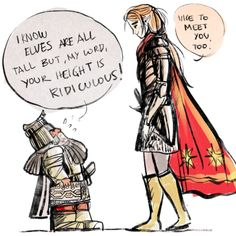 The meeting of Maedhros and Azaghal  ....   ^-^   xD jejje cute!!