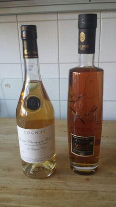 Twee heel verschillende cognacs.