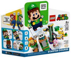 Lego Mario, Lego Super Mario, Mario Bros., Mario Party, Yoshi, Lego Sets, Free Lego, Starter Set, Lego Harry Potter