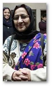 Bilquis Edhi  born 1947    A professional nurse and one of the most active philanthropists in Pakistan. She has been nicknamed, The Mother of Pakistan. She heads the Bilquis Edhi Foundation, and with her husband received the 1986 Ramon Magsaysay Award for Public Service. Her charity runs many services in Pakistan including a hospital and emergency service in Karachi. Together with her husband their charity has saved over 16,000 unwanted babies.