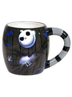 """""""Jack Skellington"""" Mug #InkedShop  #mug #NightmareBeforeChristmas #Jack #skellington"""