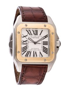 Santos 100 Automatic Watch