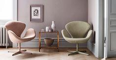 Swan armchair by Arne Jacobsen from Fritz Hansen - Crafting timeless design since 1872 - Fritz Hansen