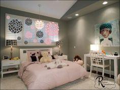 Toddler Teen Baby Girl Bedroom Wall Art Vinyl Bedroom Wall Decal   RoyceLaneCreations - Housewares on ArtFire