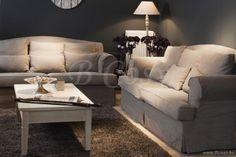 Lee&Lewis Brooklyn Charme Sofa 2 Zit 205 met Cat A stof