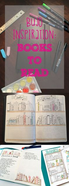 bullet journal inspiration books to read