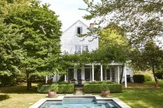 this colonial home is decorated in modern shaker style | house tour designed by cs valentin on coco kelley
