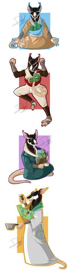 The Nickelodeon New TMNT version of Splinter is by far the coolest. TMNT (c) Nickelodeon Art (c) BlazeBer. Tmnt 2012, Ninja Turtles Art, Teenage Mutant Ninja Turtles, Gi Joe, Turtle Tots, Tmnt Comics, Childhood Tv Shows, Pokemon, Animation