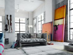 rothko replicas in your living room