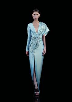 Наряд от кутюр сезона осень-зима 2017-2018 Бэйзил Сода. Fashion trend and sexy dress haute couture Basil Soda A/W 17/18.