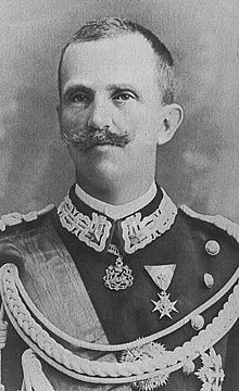 Victor Manuel III, Rey de Italia durante la 2º Guerra Mundial.
