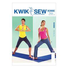 Mccall Pattern K3988 All Sizes -Kwik Sew Pattern