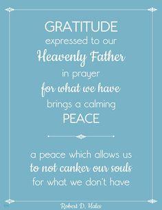 Robert D. Hales - April 1992 LDS General Conference  #lds #ldsconf #gratitude