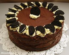 Oreo Cake, Oreo Cookies, Choco Chocolate, Cute Strawberry, Food Porn, Cakes And More, Sweet Recipes, Cookie Recipes, Cupcake Cakes