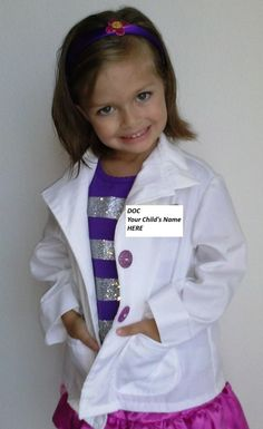 Doc Mcstuffins  inspired Costume Children's by HandmadebyCatira, $27.99