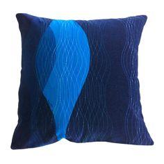 #velvet #cushion #navy