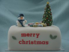 Christmas Cakes - Daisy & Boots (Boots) 018 by Cakes By Ade (from Ade's Piccies), via Flickr