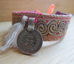 bracelet love - Tibetan inspired.