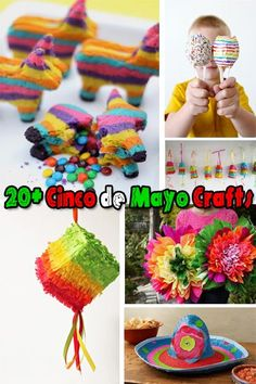cinco+de+mayo+arts+and+crafts+for+kids | ... de Mayo craft to do with your kids? Try one of these 20+ Cinco de Mayo