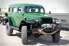 Legacy Dodge Carryall, completely modernized version of the Dodge Power Wagon