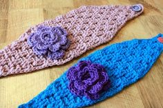 Elisabeth Headwrap PDF Crochet Pattern (Two sizes -Toddler/Child and Adult)