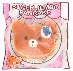 big blueberry bear pancake scented squishy by Puni Maru 4