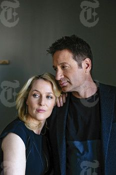 New York Times: 'The X-Files': David Duchovny and Gillian Anderson Return to the Paranormal Beat - 2016 | Duchovny Central
