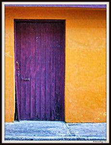 Big Purple Door
