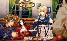 Violet Evergarden Wallpaper, Violet Evergreen, Violet Evergarden Anime, Kyoto Animation, Bungo Stray Dogs, Light Novel, Anime Films, Manga Comics, Fire Emblem