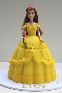 Princess Belle cake by Creative Cakes by Julie, via Flickr