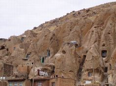 Cave Dwellings For Rent, Kandovan, Iran