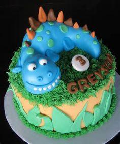 dinosaur cake - - Yahoo Image Search Results