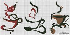 Схемы вышивки крестом монохром (ч.3) из интернета / Вышивка / Схемы вышивки крестом, вышивка крестиком