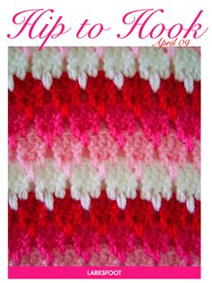 I want to make some dish cloths from this pattern or even a table runner :]]